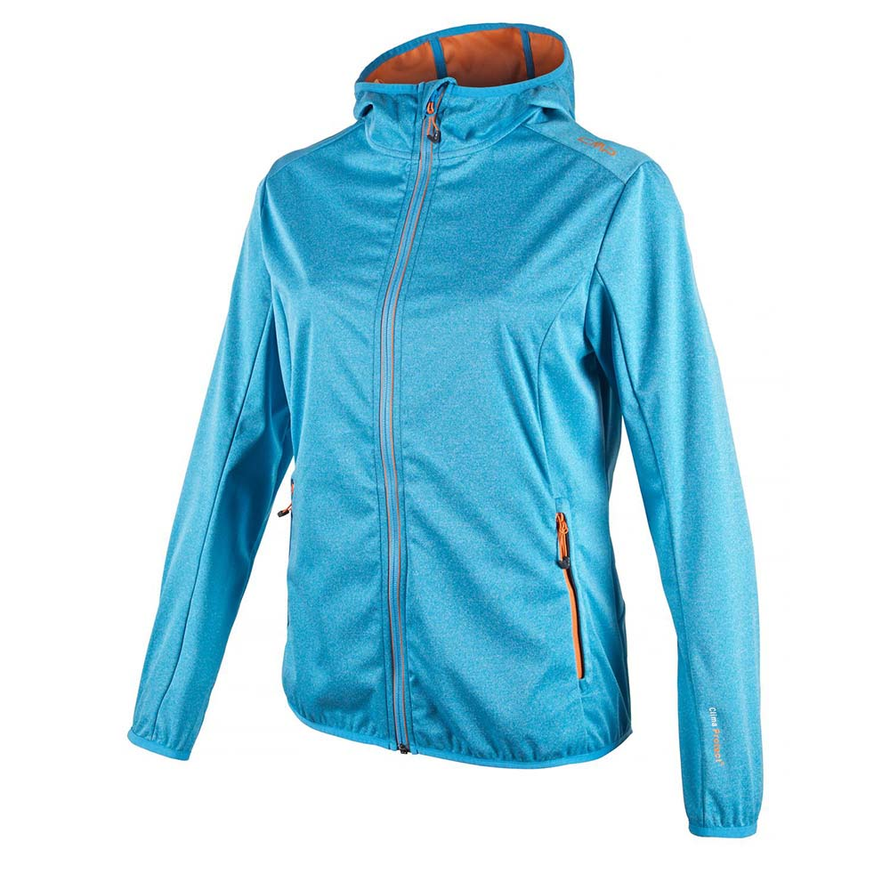 Cmp Fix Hood Light Softshell Melange
