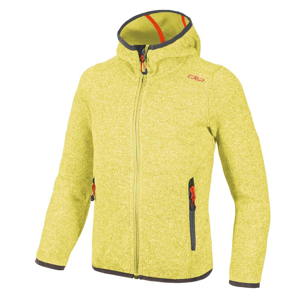Cmp Girl Fleece Jacket Fix Hood