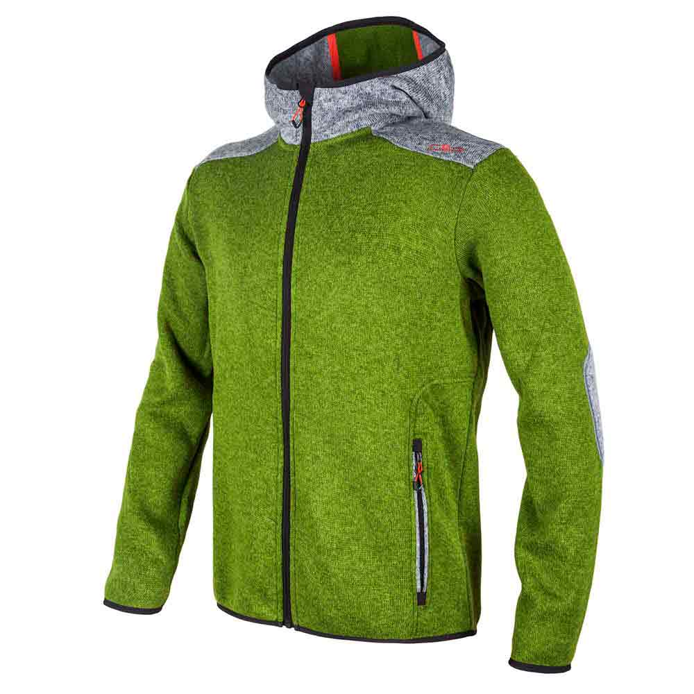 Cmp Fix Hood Knit Tech
