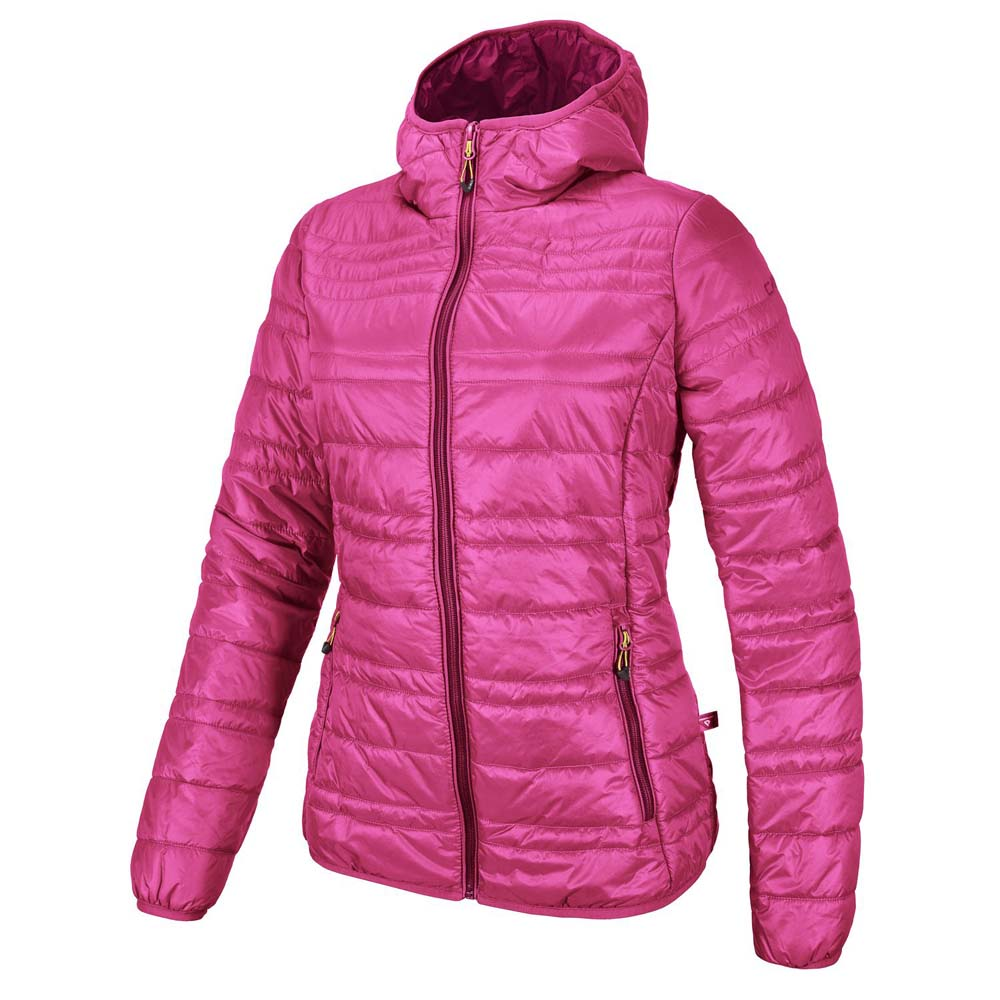 Cmp Fix Hood Primaloft Silver Girls
