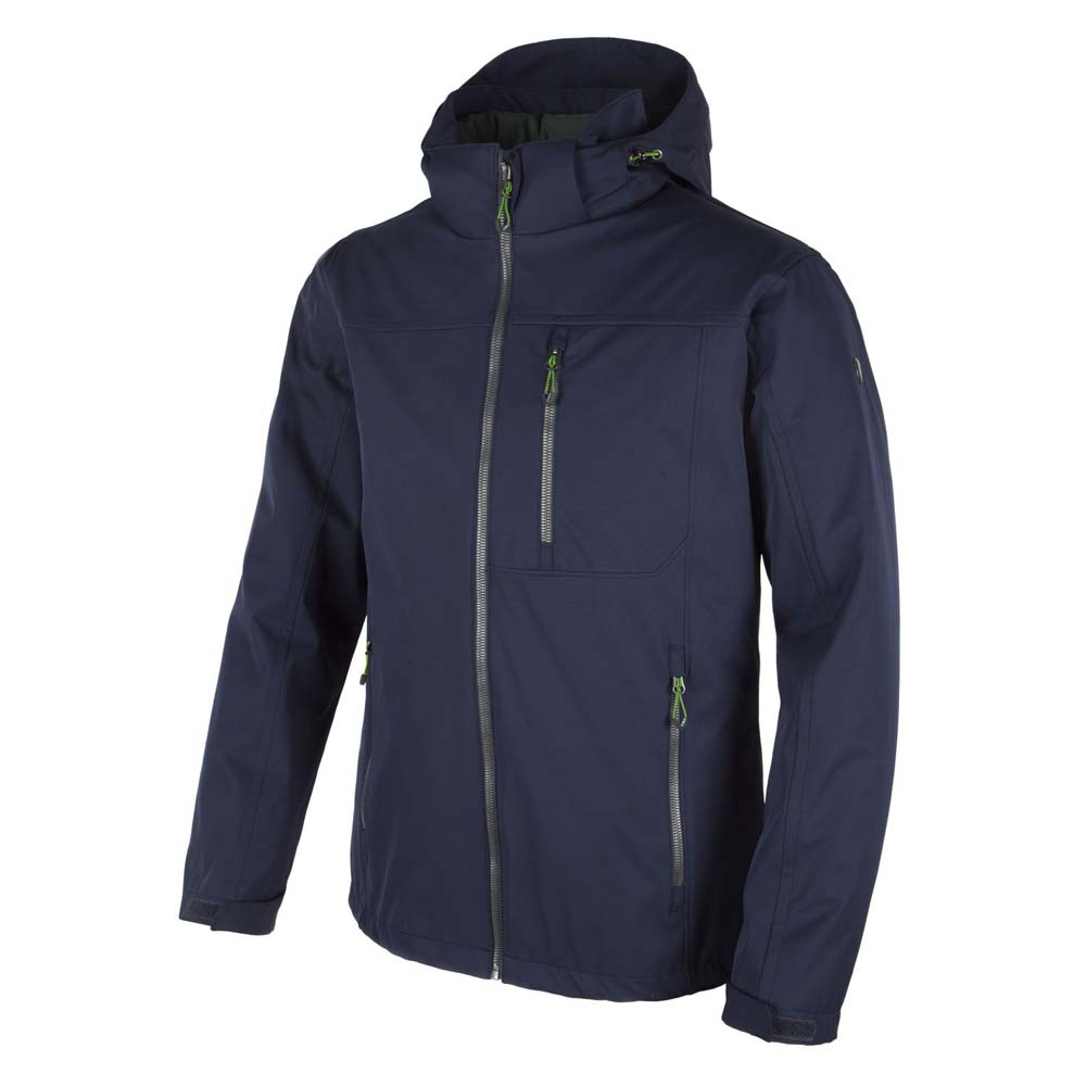 Cmp Zip Hood Softshell 3 In 1 Thinsulate Platinum