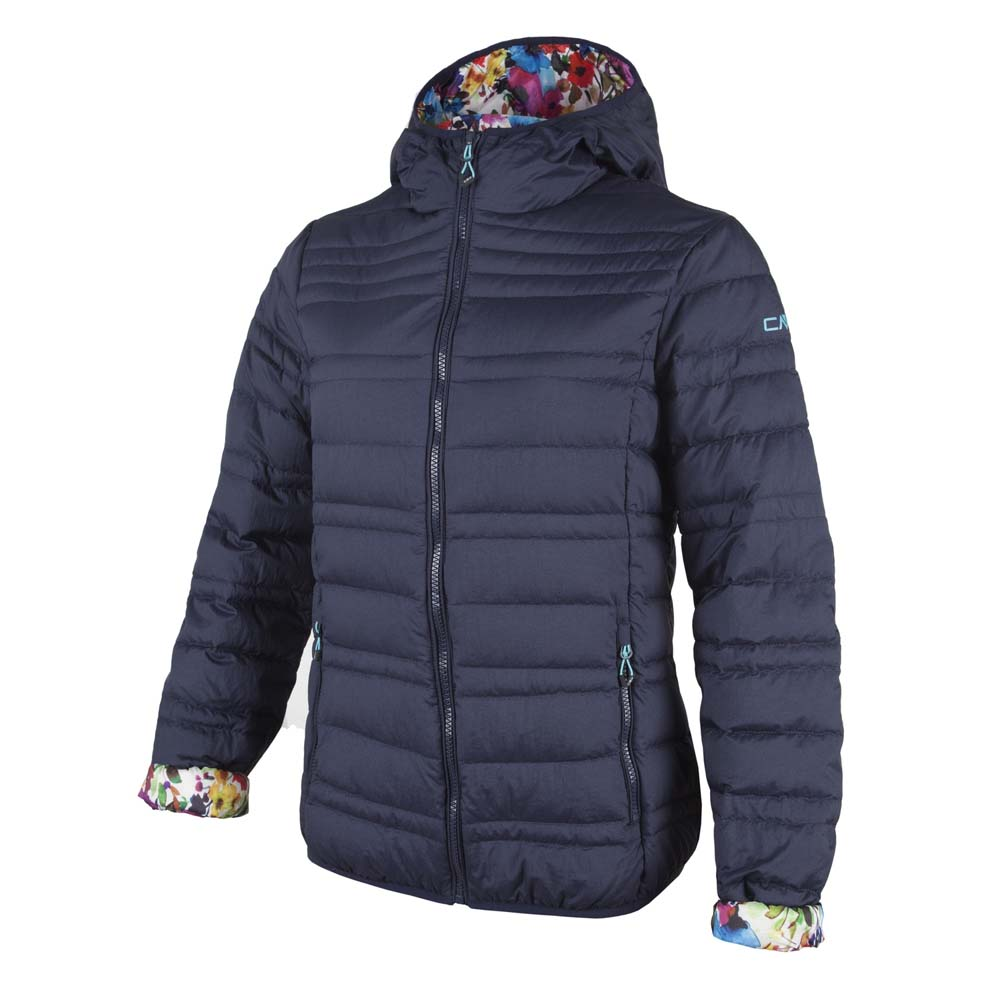 Cmp Fix Hood Down Jacket