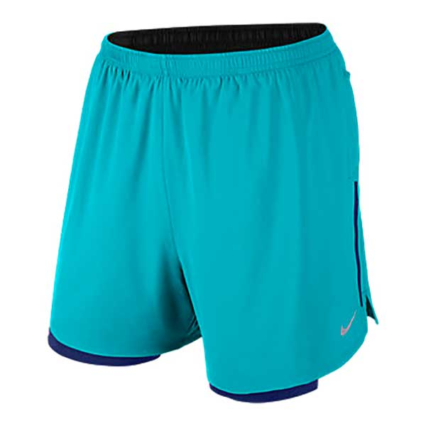 Nike 5 Phenom 2 In 1 Short