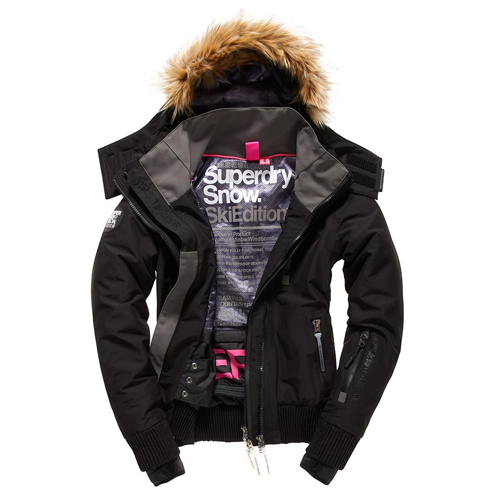 Superdry Snow Wind Hooded Bomber W