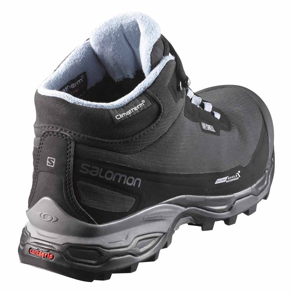 79d6b4399121 Salomon Shelter Spikes CS WP Grey buy and offers on Trekkinn