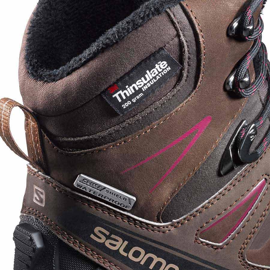 Salomon X Ultra Winter Cs WP Brown buy and offers on Trekkinn 891d1b75aeb