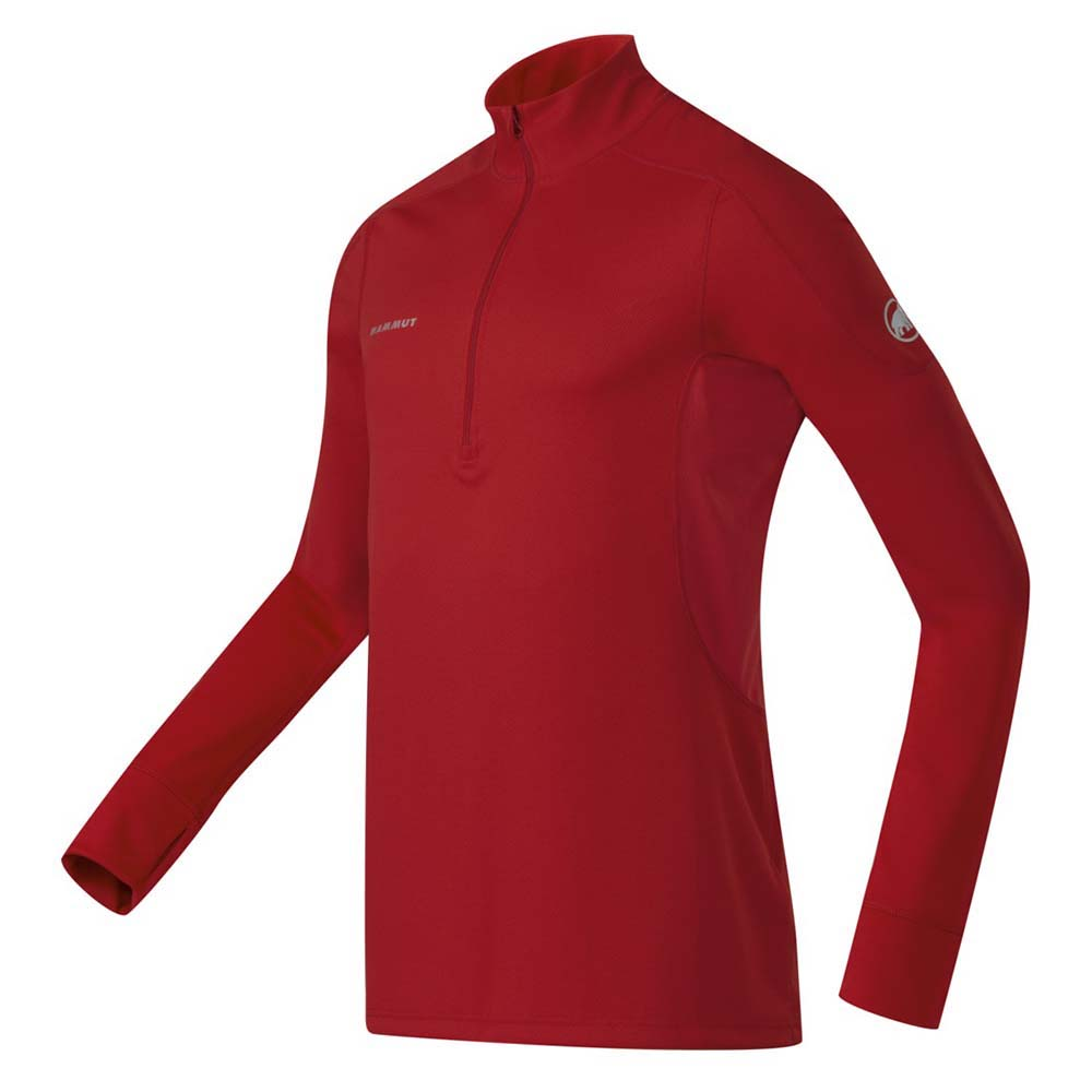 Mammut Go Intensive Zip L/S Black