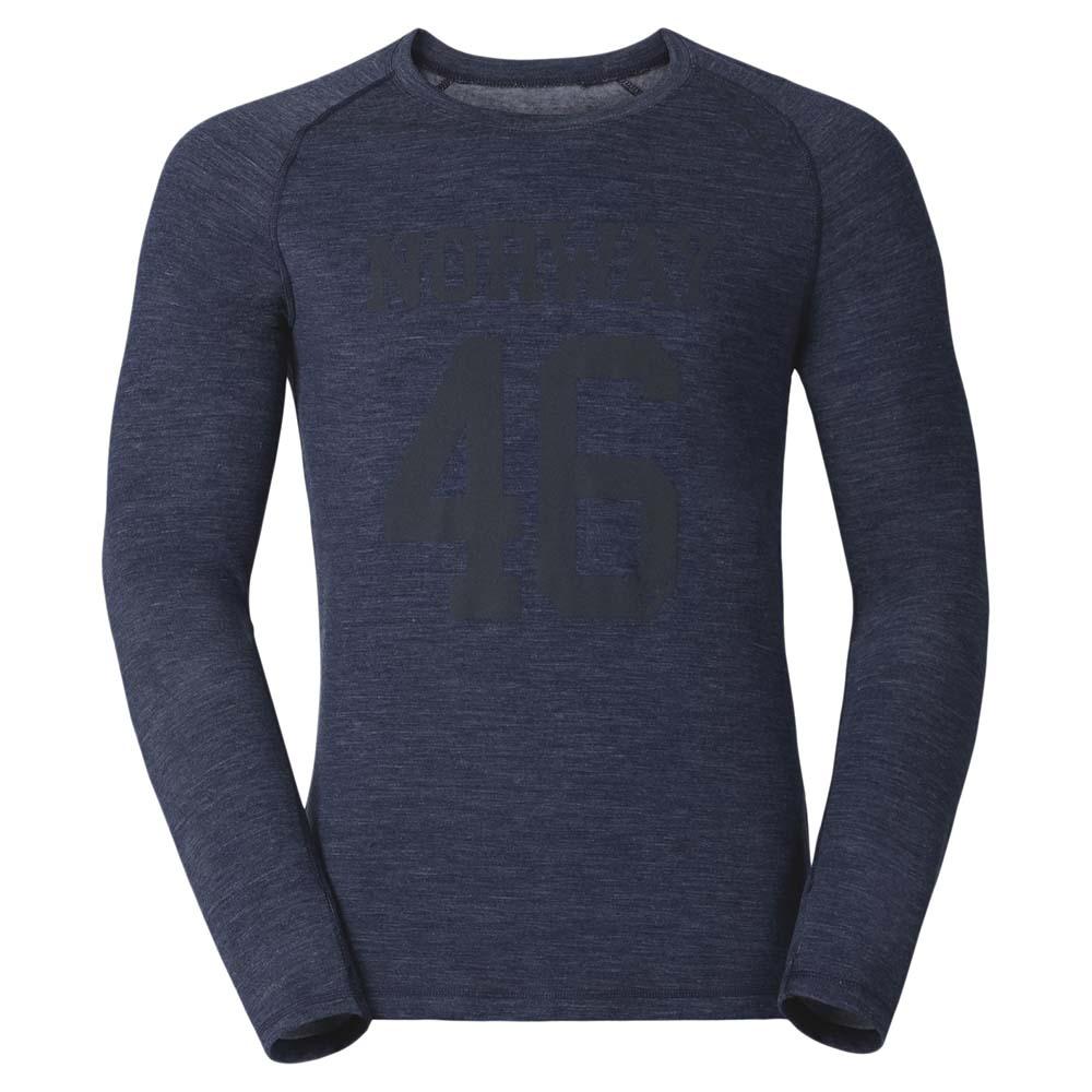 2b133be36 Odlo Shirt L/S Crew Neck Livigno Revolution TW Warm