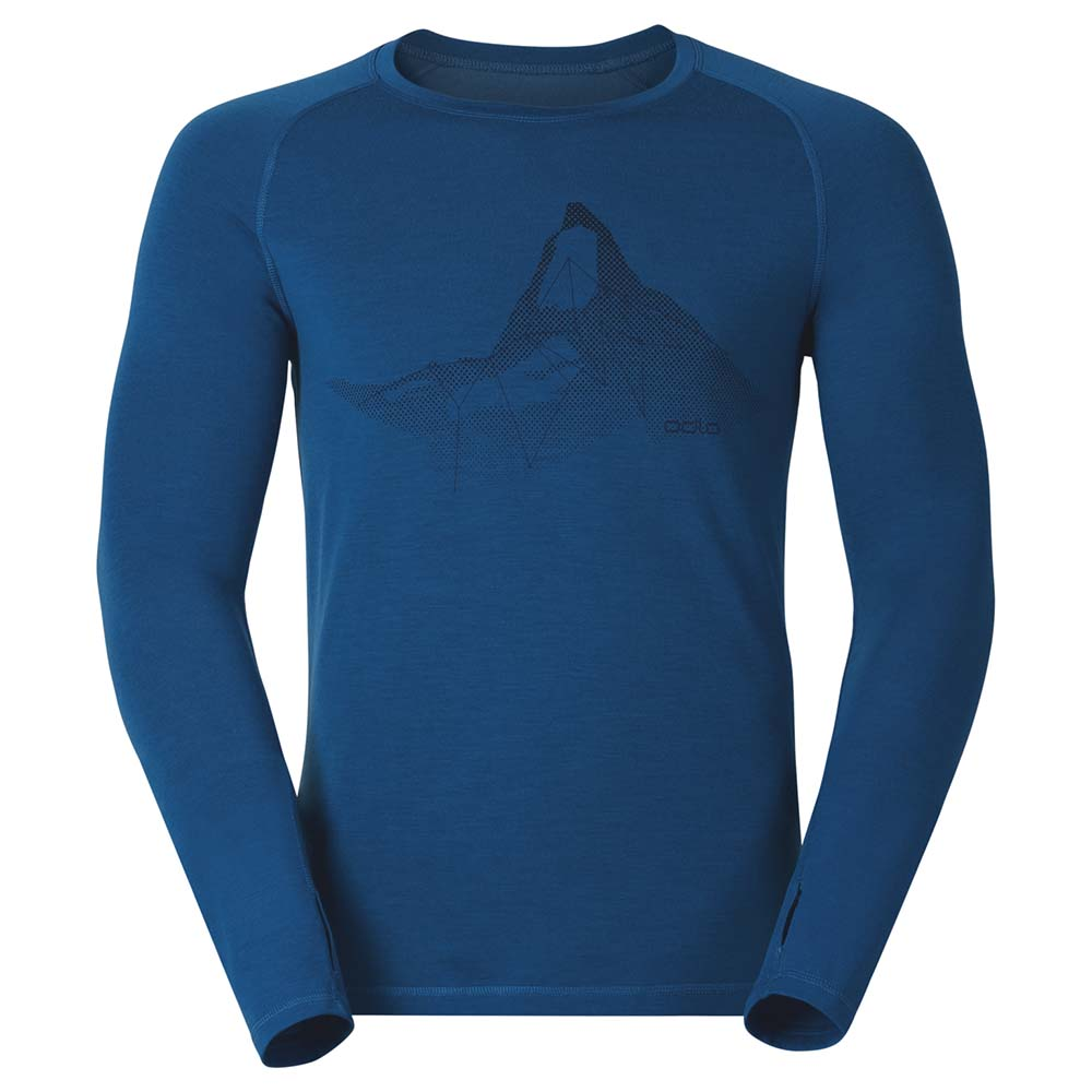 Odlo Shirt L/S Crew Neck Livigno Revolution TW Warm