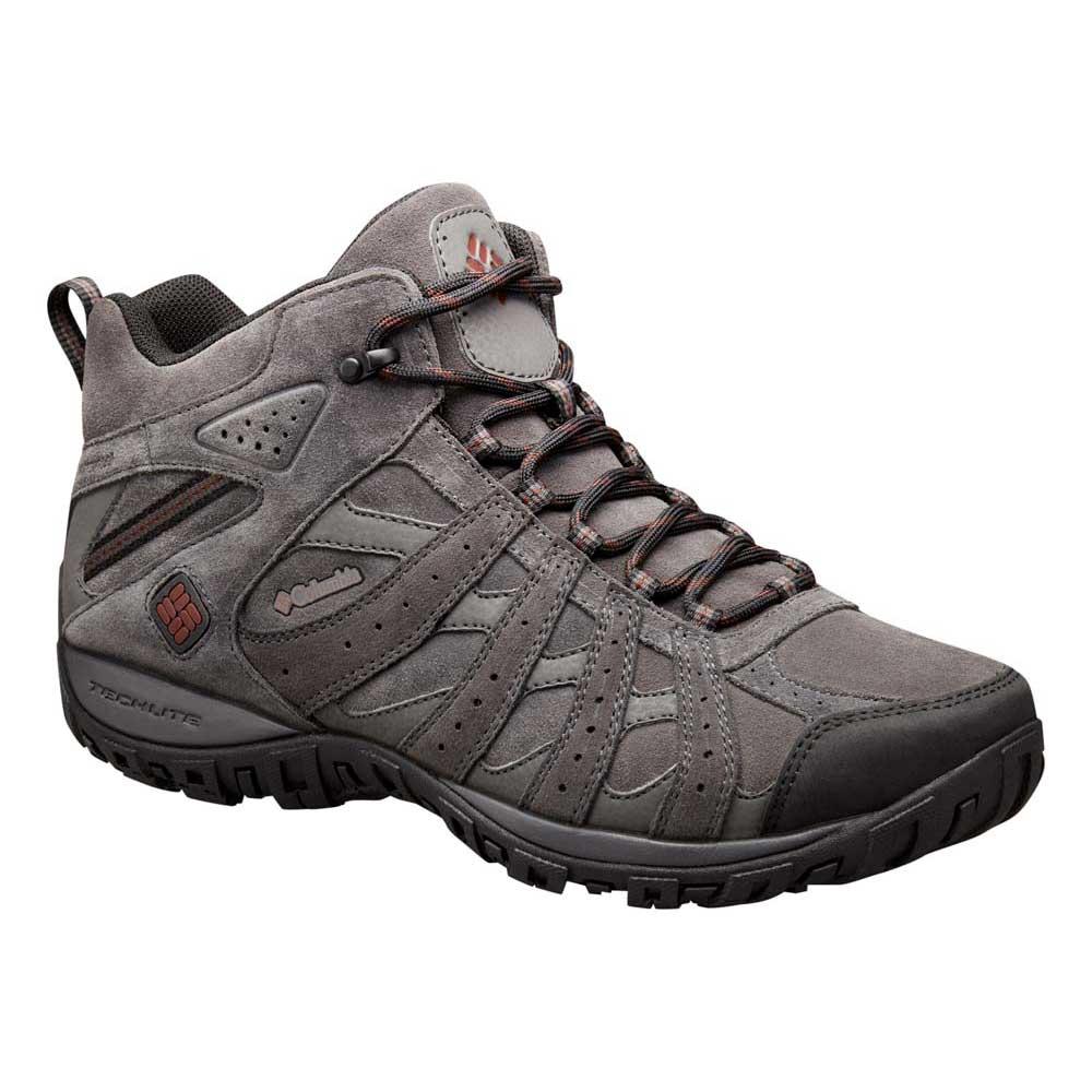 e50e33787d3 Columbia Redmond Mid Leather Omni Tech Grey