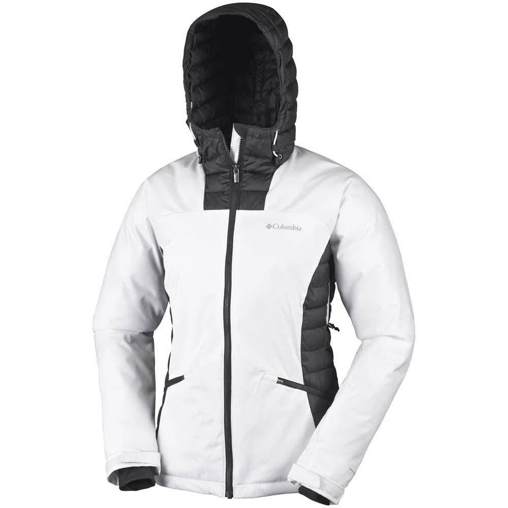 Columbia Salcantay Hooded Blanco comprar y ofertas en Trekkinn 26412d291ec
