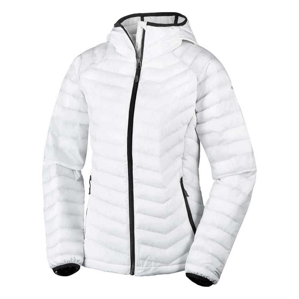 283c16841df9f Columbia Powder Lite Hooded White buy and offers on Trekkinn