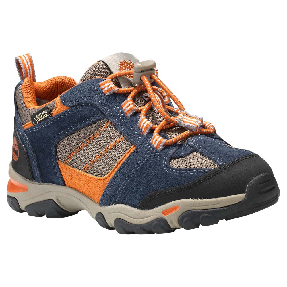 Timberland Trail Force Fabric Leather Oxford Bungee Goretex Membrane Youth