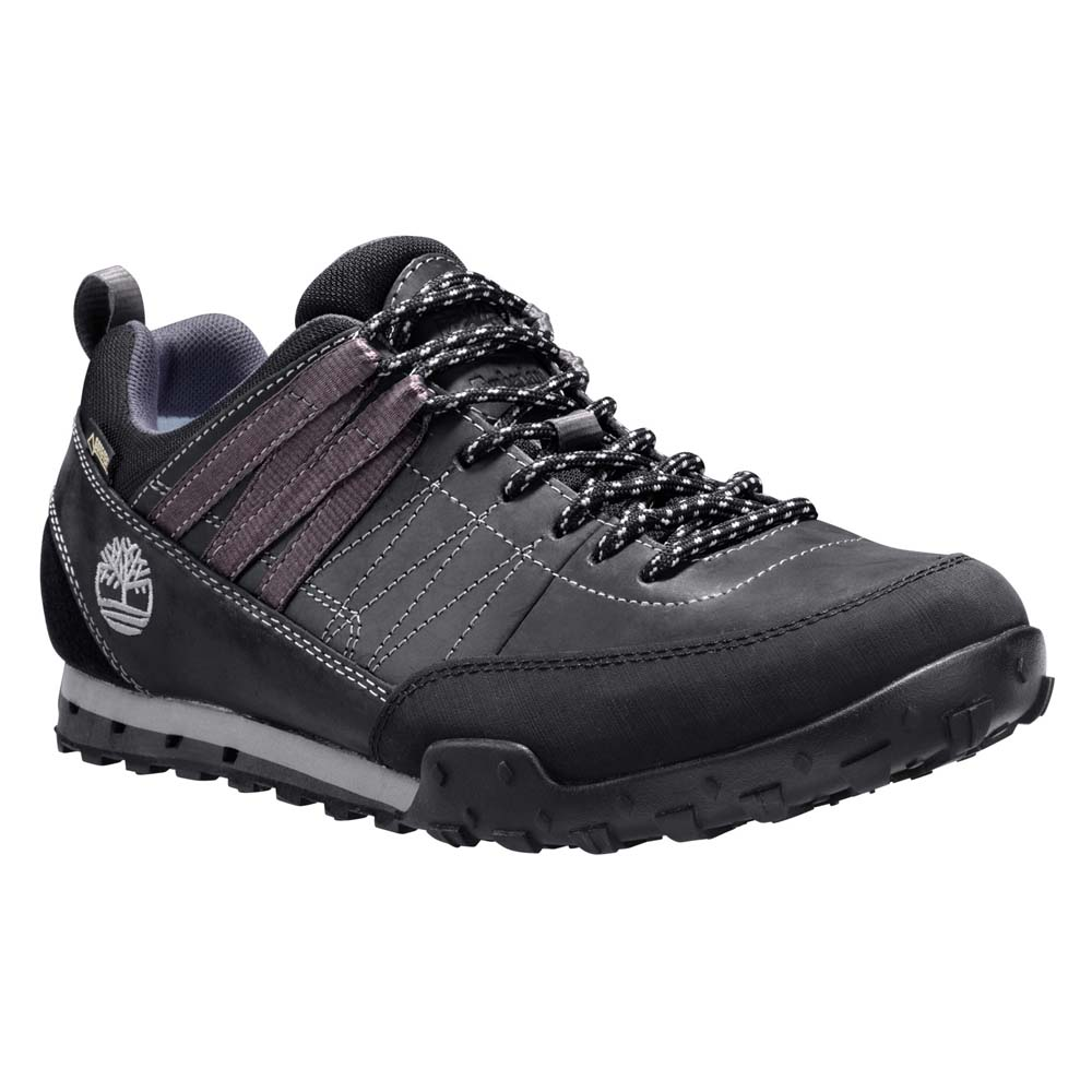 Timberland Greeley Approach Low Leather Goretex Membrane Nero 5be3a6e9aea