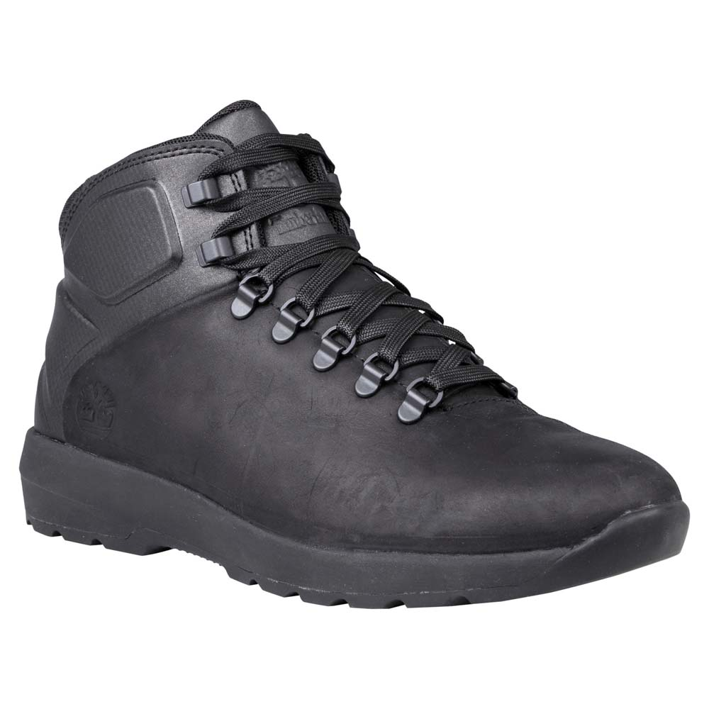 Timberland Westford Mid Leather Black buy and offers on Trekkinn 262cb30279f