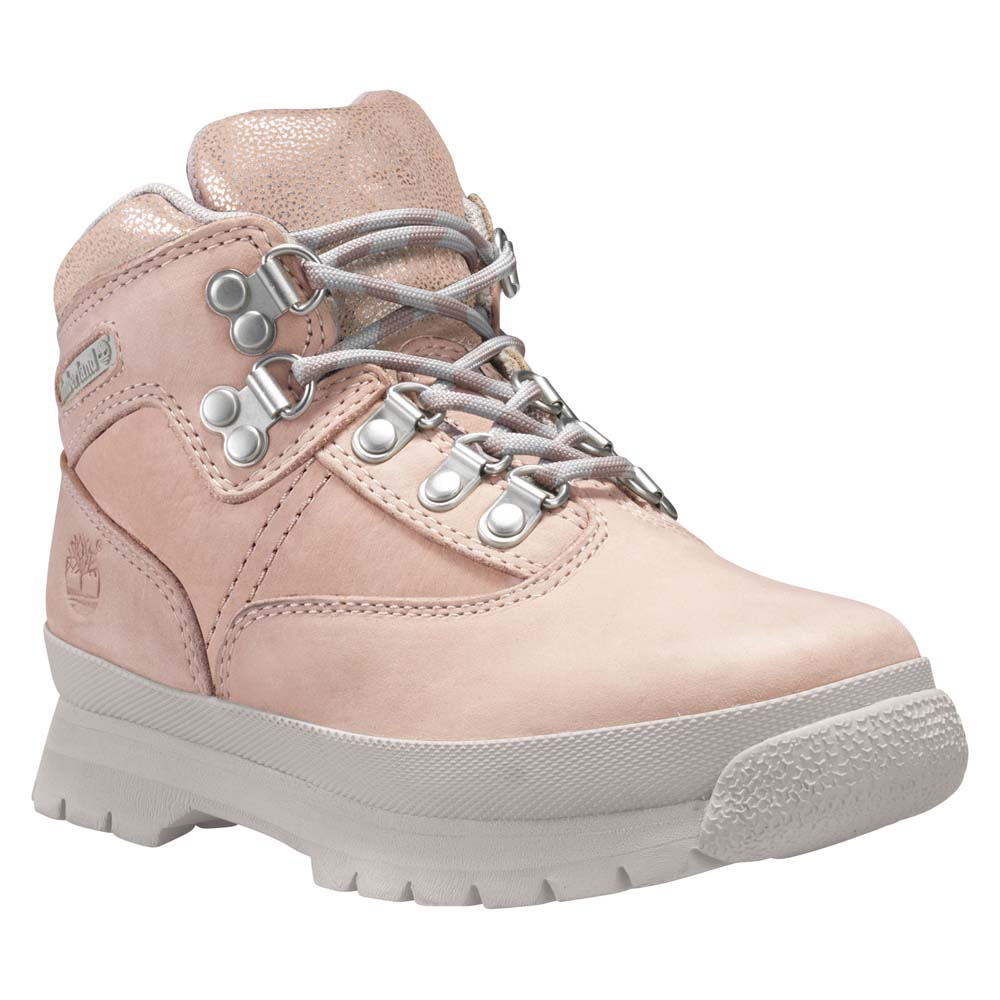 Timberland Euro Hiker Mid Leather Fabric Junior
