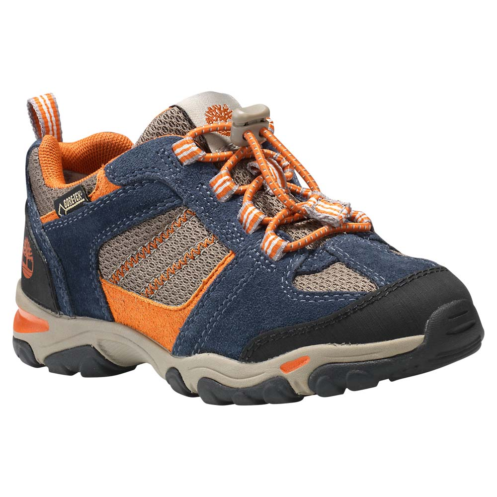 Timberland Trail Force Fabric Leather Oxford Bungee Goretex Membrane Junior