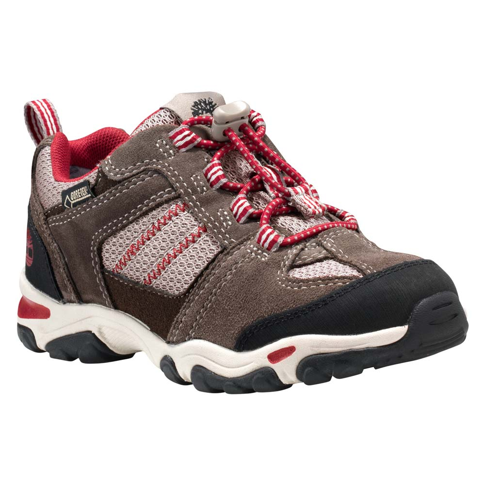 Timberland Trail Force Fabric Leather Oxford Bungee Goretex Membrane Toddler