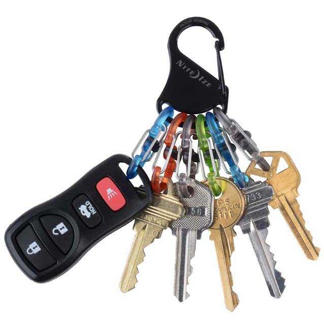 Porte-clés Nite-ize Key Rack Locker 6 Carabiners