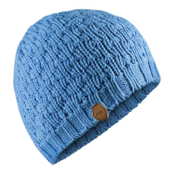 3c8d08e0190 Gill Waffle Knit Beanie Blue buy and offers on Trekkinn