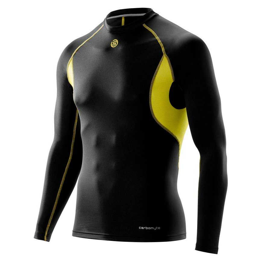 Skins Func Baselayer Carbonyte Thermal Ls Top Round Neck