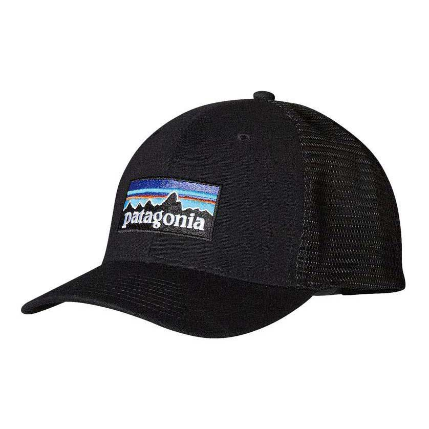 5c4bb407695 Patagonia P 6 Logo Trucker Black buy and offers on Trekkinn