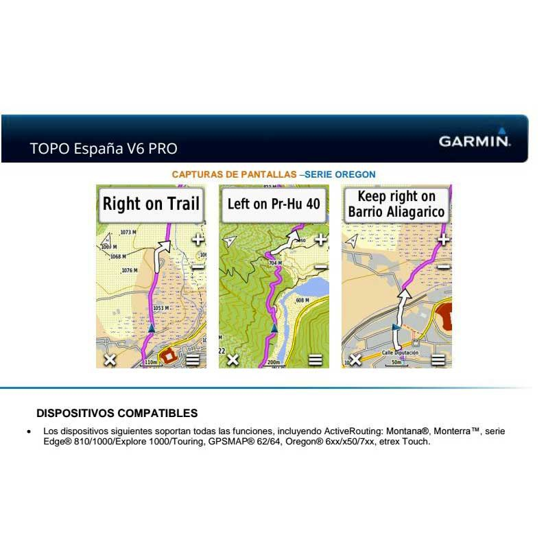 Garmin TOPO Spain v6 PRO MicroSD/SD