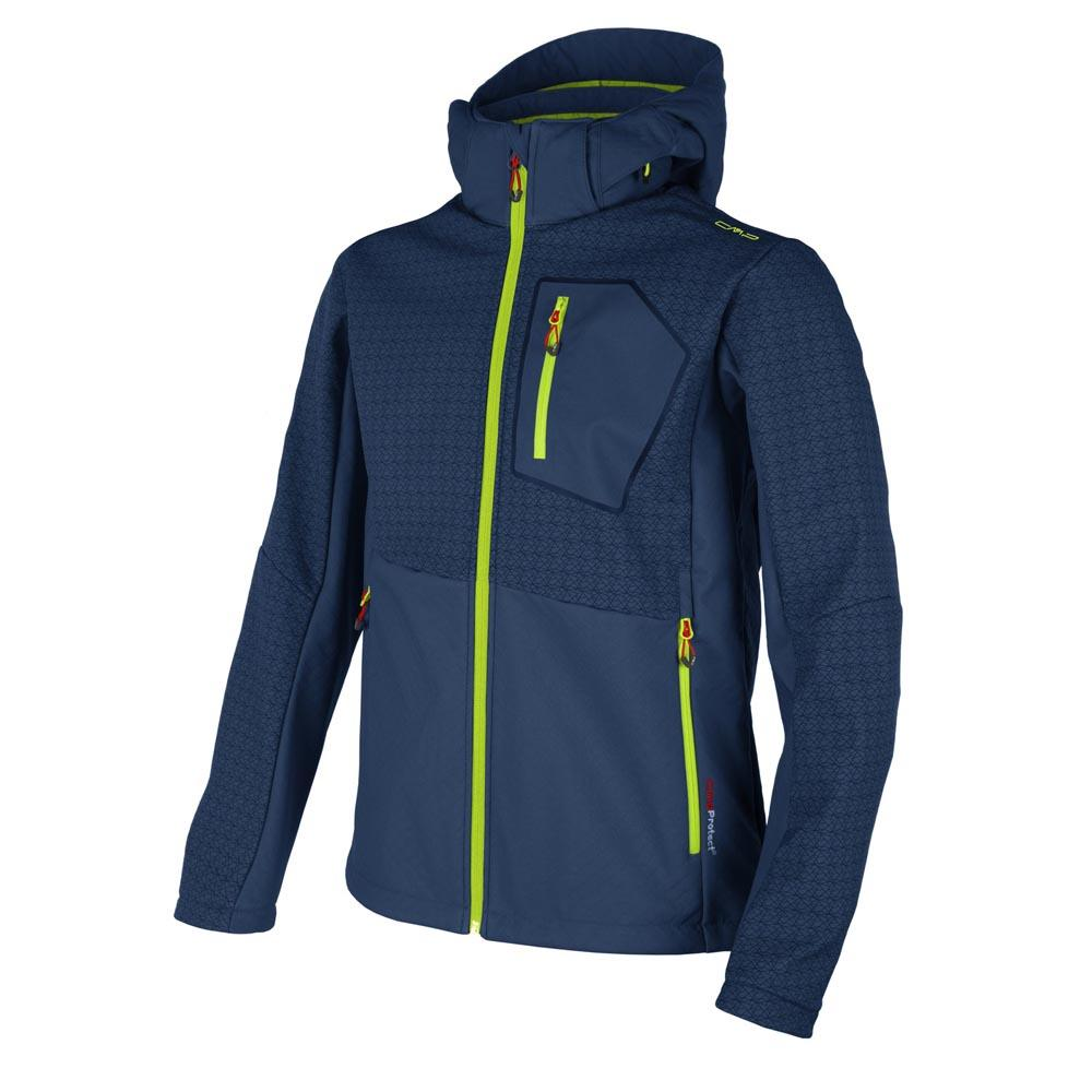 Cmp Boy Softshell Fix Hood