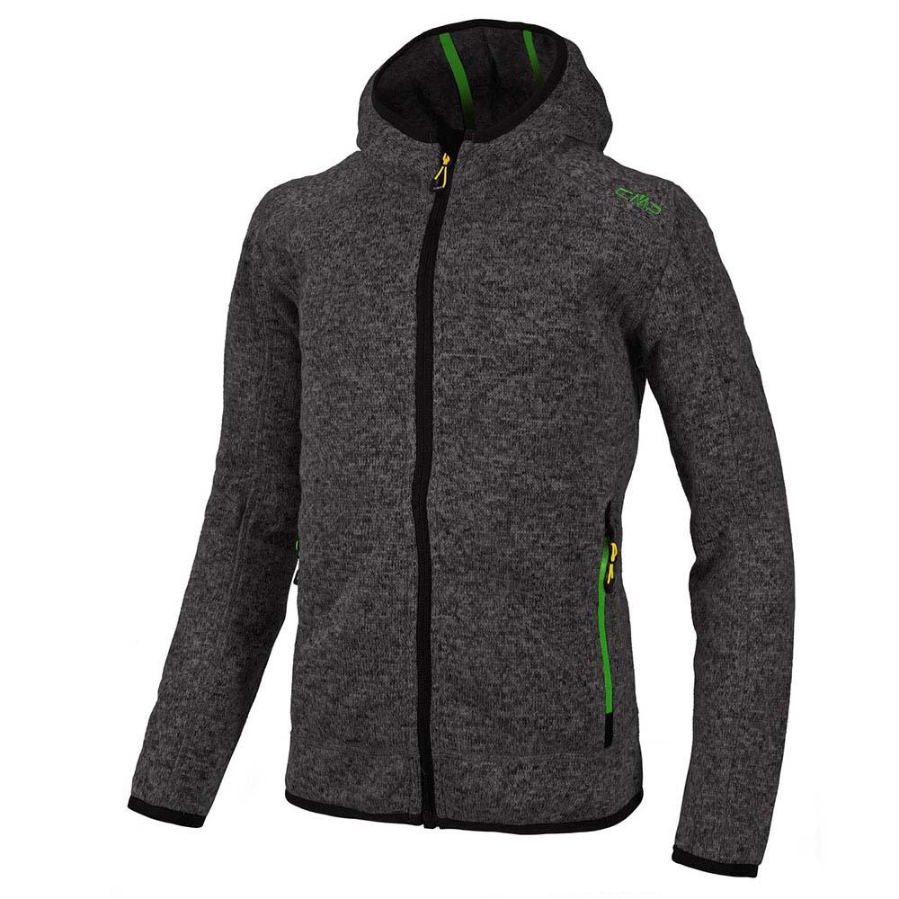 Fleece jacket fix hood cmp