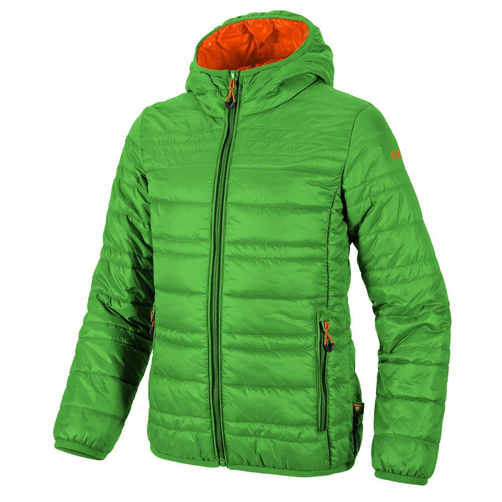 Cmp Girl Jacket Fix Hood Primaloft