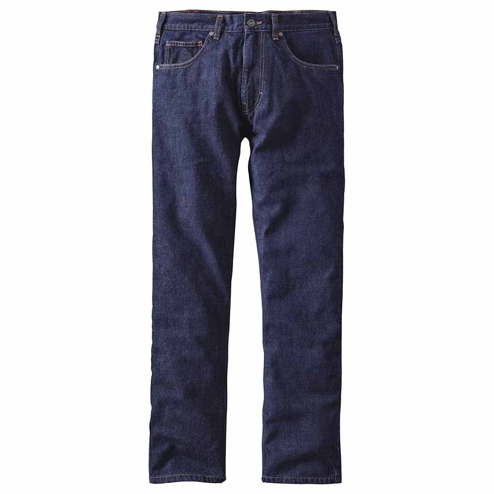 Patagonia Flannel Lined Straight Fit Jeans Pants Long