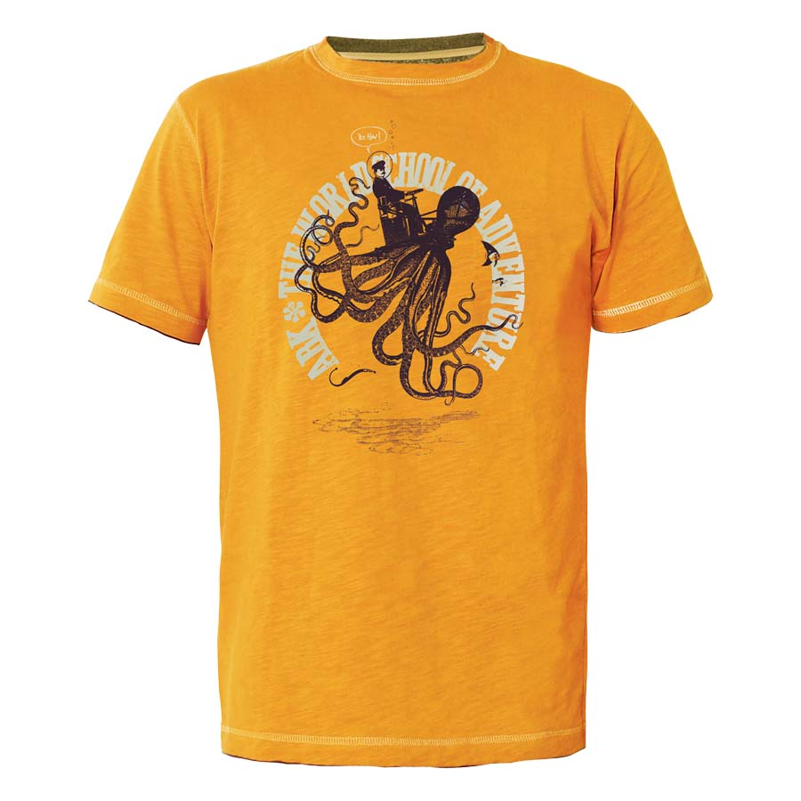 Abk climbing Octopus Exploration Tee