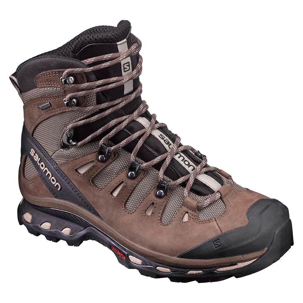 1454014193589 Salomon Quest 4D 2 Goretex Brown buy and offers on Trekkinn