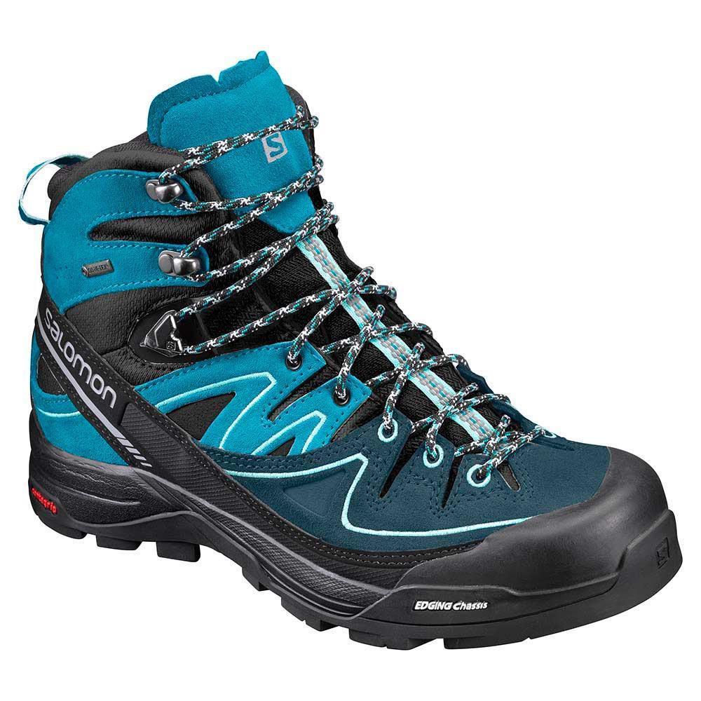 Salomon X Ultra 3 Mid Gtx Ladies Walking Shoes Multicolour