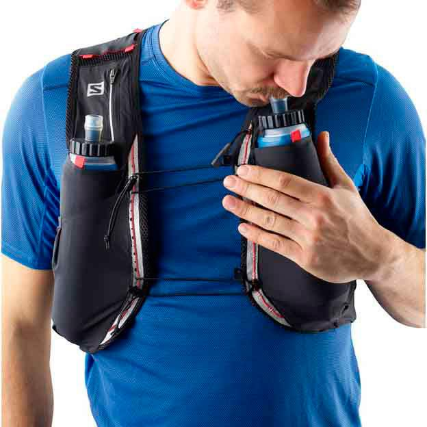 salomon s-lab sense ultra 8l hydration vest navy
