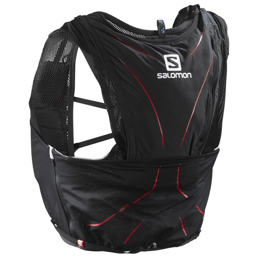 Salomon Adv Skin 12L Set Black buy and offers on Trekkinn 622126bb3d