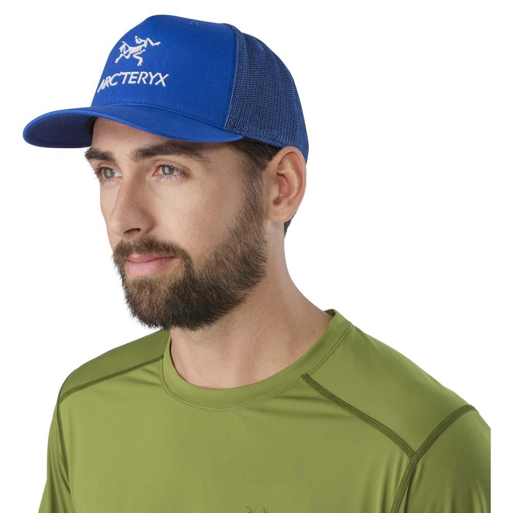 Arc teryx Logo Trucker Hat Black buy and offers on Trekkinn fc02da1a430b