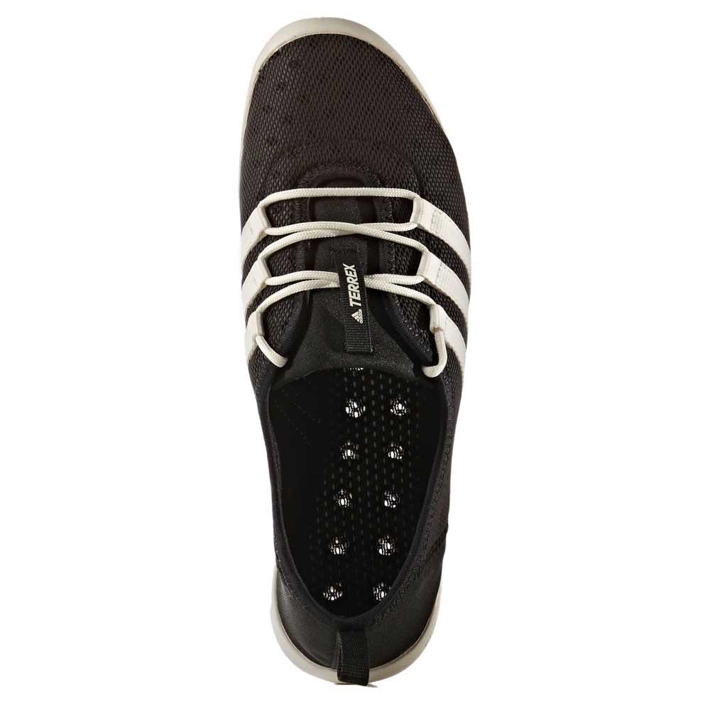 adidas terrex cc - boot mit kern schwarz / kreidebleich / matte silber