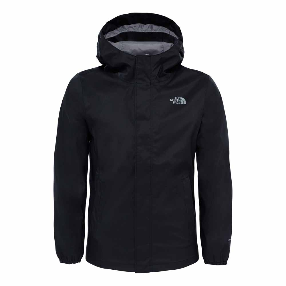 The north face Resolve Reflective Jacket Girls Black 8fc7703d1