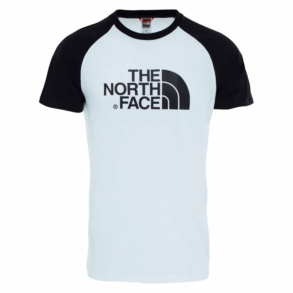 The north face S S Raglan Easy Tee Bianco f20939ac437d