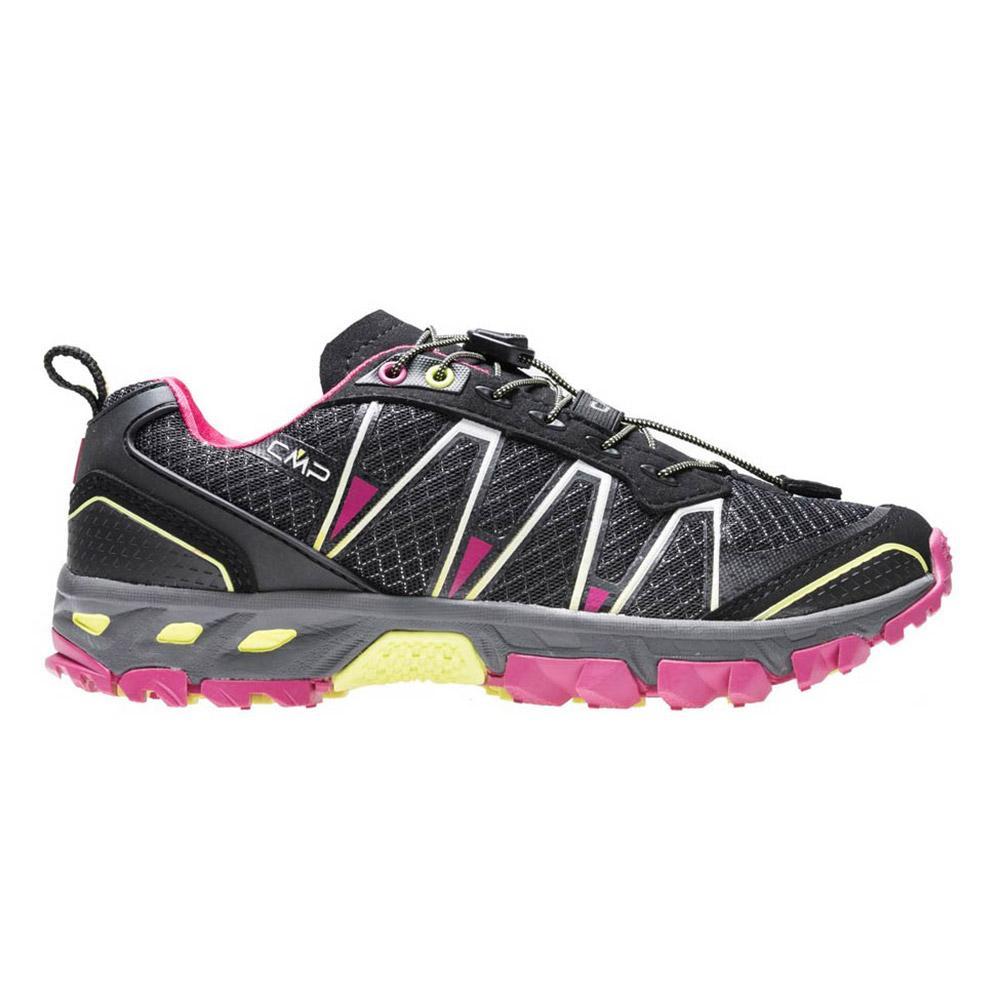 Chaussures Cmp Atlas Trail EU 38 Black / Rasperry / Acido