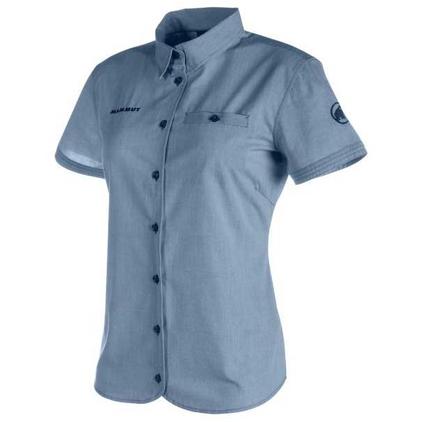 5b7e9b87c Mammut Trovat Shirt Blue buy and offers on Trekkinn