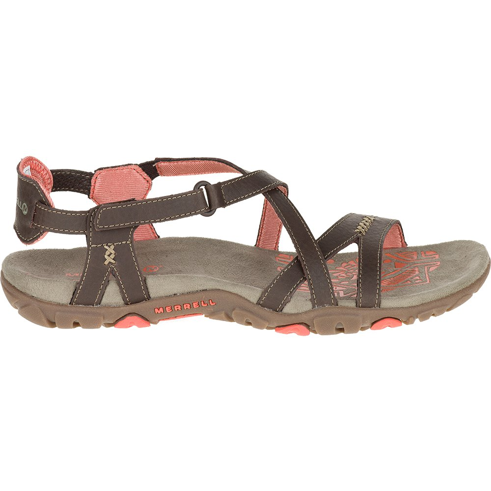 45ab2d76cf57 Merrell Sandspur Rose Leather Red buy and offers on Trekkinn
