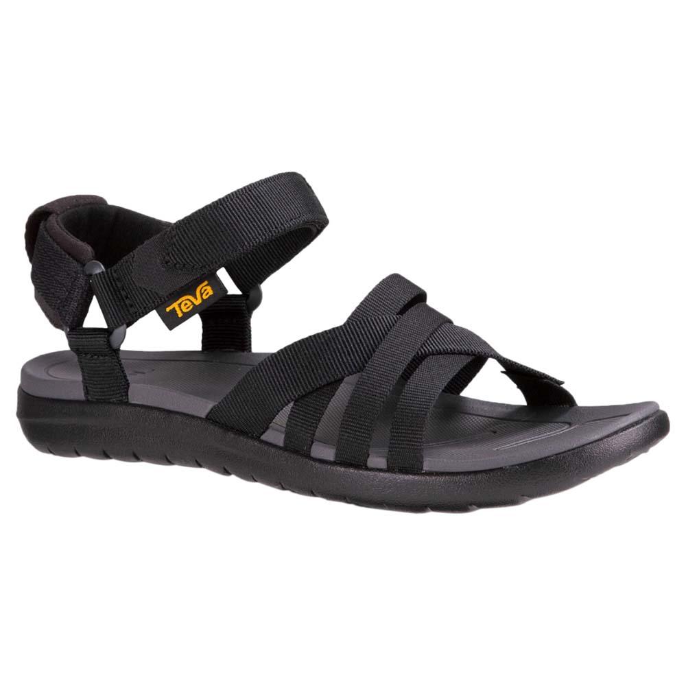 2cb4208c3d89 Teva Sanborn Sandal Black buy and offers on Trekkinn