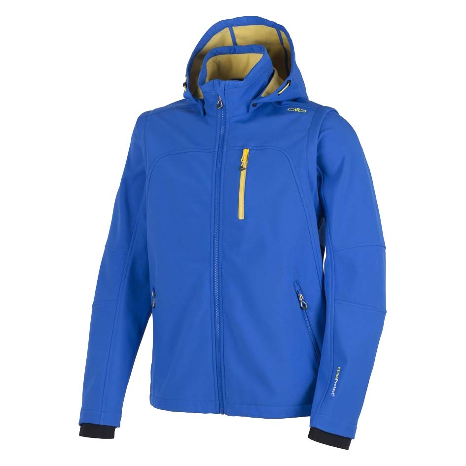 Cmp Jacket Snaps Hood With Detechable Sleeves