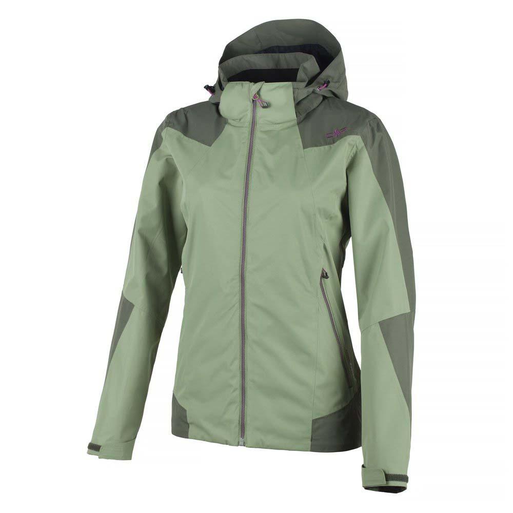 96af09d65cc6 Cmp Zip Hood Jacket Green buy and offers on Trekkinn