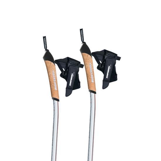 Bâtons de randonnée Komperdell Ergo Vario 105-130 cm Orange