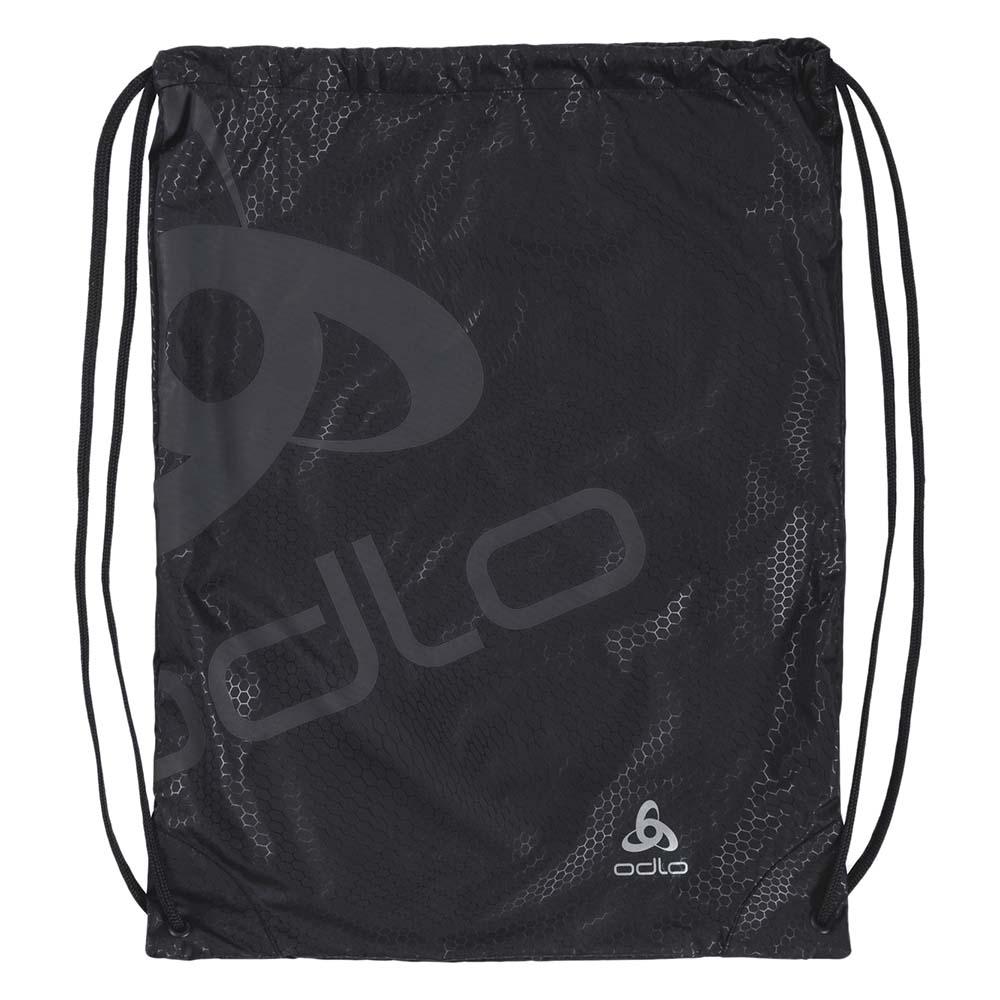 8e7858ad0e Odlo Printed Gym Bag Black buy and offers on Trekkinn