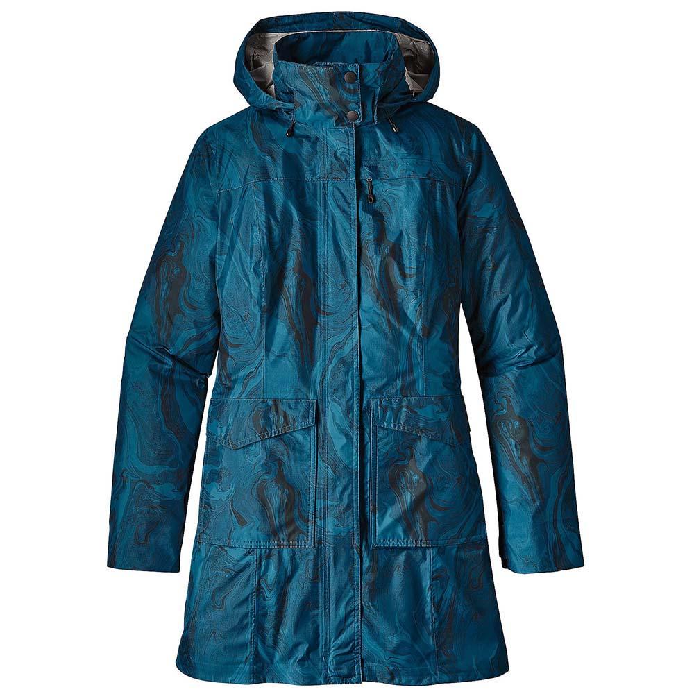 8e077f45 Patagonia Torrentshell City Coat Lilla kjøp og tilbud, Trekkinn
