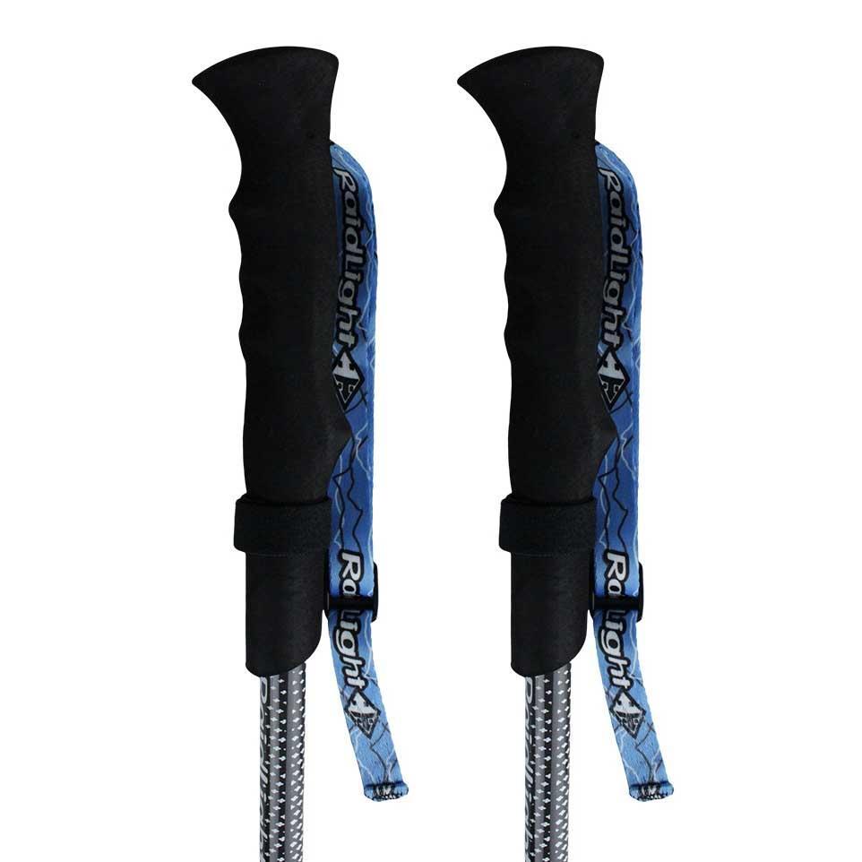 Raidlight Compact Carbon Ultra Blauw Trekkinn Stokken